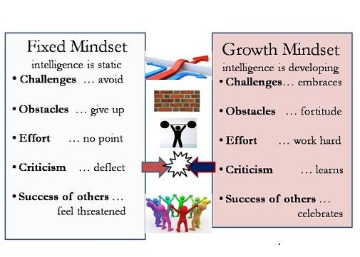 Dweck mindsets