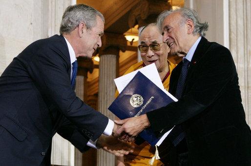 Nobel Peace Prize winner Elie Wiesel